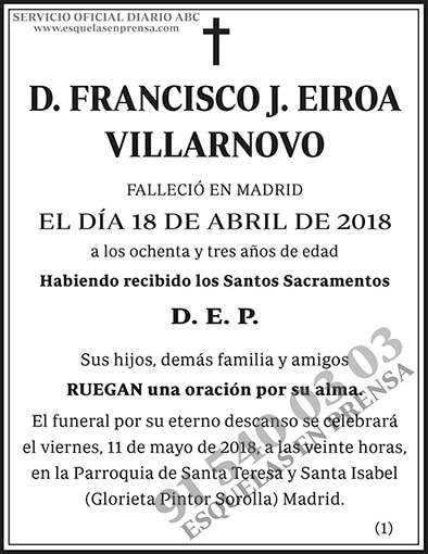 Francisco J. Eiroa Villarnovo